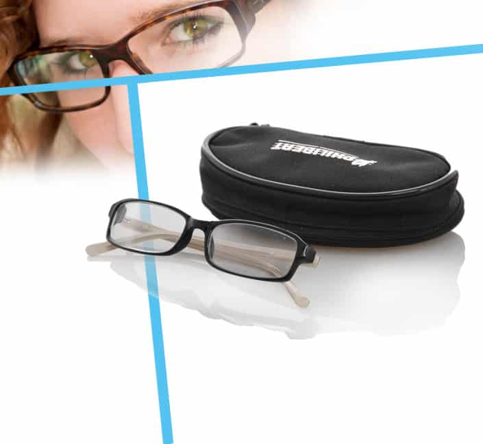 Fabricant d'etui lunettes opticien polyester