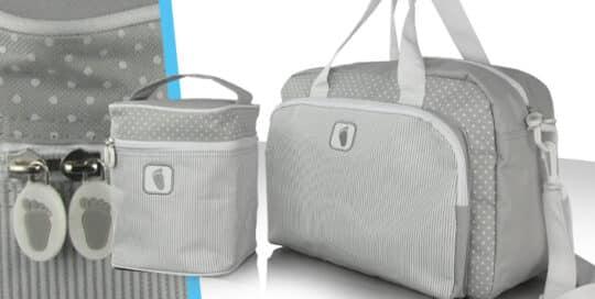 sac a langer et vanity pour maternité publicitaire