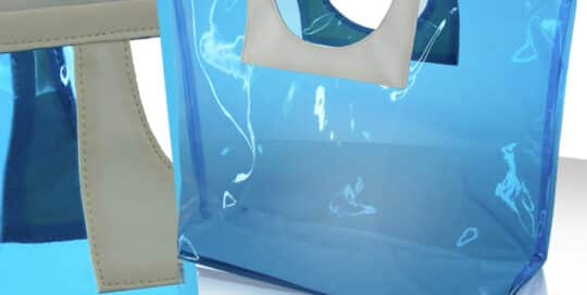 sac curistes transparent bleu