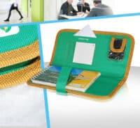 Porte documents multi poches de rangement polyester pvc