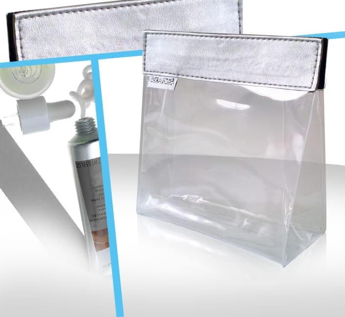 Fabricant de trousse cosmetique transparente beaute sur-mesure