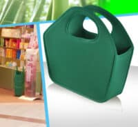 sac caisse magasin cosmetique