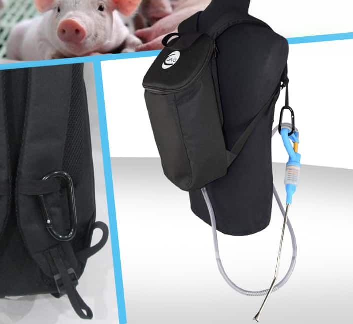 sac a dos rangement materiel sante animal