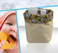 corbeille soins bebe polyester
