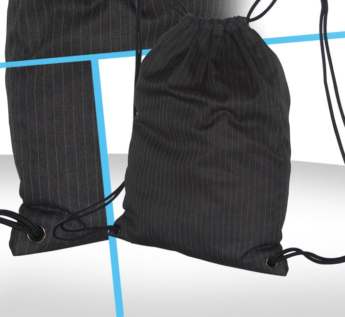 Fabricant de sac drawstring mode homme