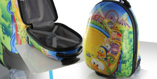 valise trolley kids pvc