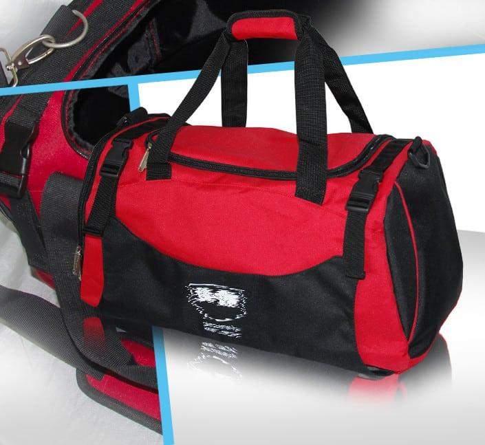 sac de sport avec attache clips renfort