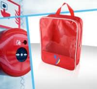 sac transparent offre produit sécurité feu