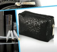 trousse cosmetique sequin brillant