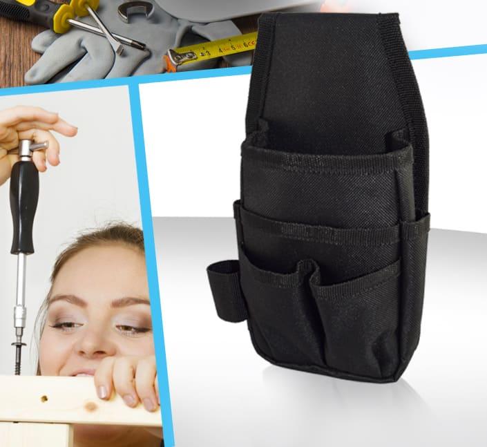 Porte outils avec ceinture polyester