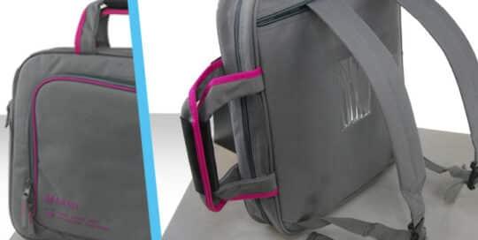 Sacoche sac à dos ordinateur polyester
