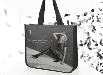 sac cabas écologique publicitaire personnalisé