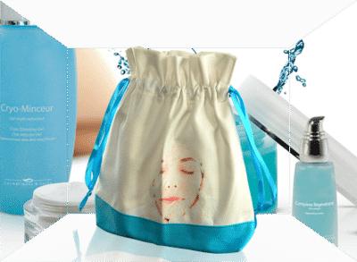 Trousse cosmétique coffret de soin sur-mesure personnalisée