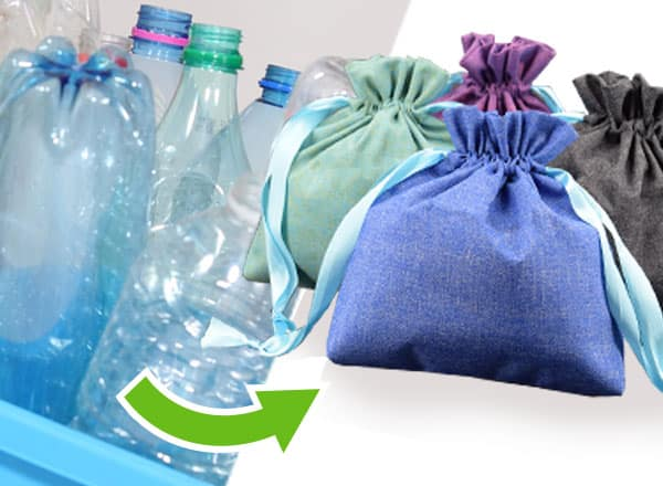 Fabricant de pochons cosmétiques en matières recyclées