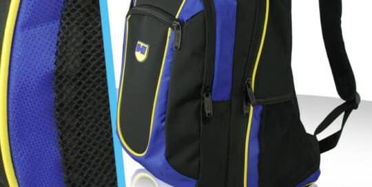 Conception de sac a dos sport polyester nylon air mesh reflechissant
