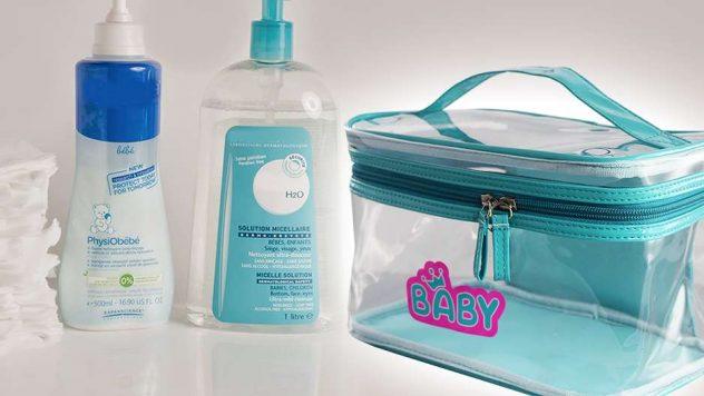 Fabricant de sac publicitaire vanity case bébé