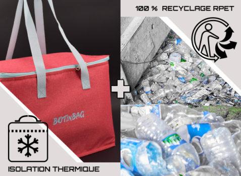 Producteur de sacs isothermes 100% issus du recyclage