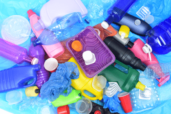 Bouteilles plastiques à destination du recyclage