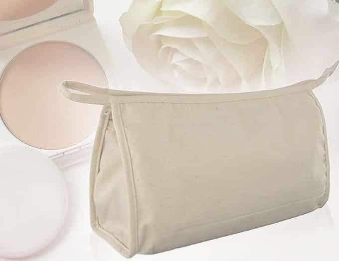 trousse coton ecologique publicitaire cometique maquillage